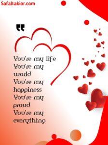 150 Romantic Love Quotes Him 2021 & I love you Quotes